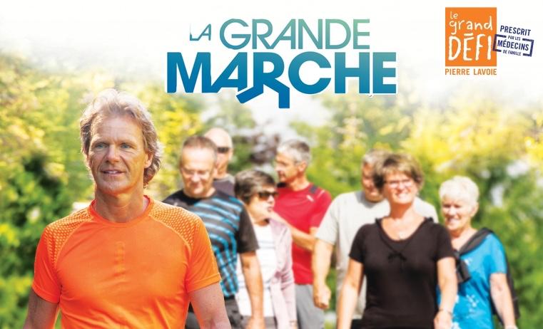 Vous êtes déçu de ne pouvoir participer à «La Grande Marche»?